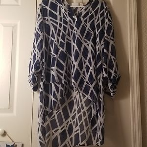 Chicos cover-up/ or over a top